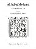 Alphabet Moderne N°25 (fichier PDF)