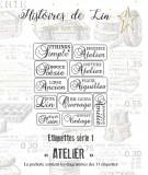 Série 1  Etiquettes d'Atelier (fichier PDF)