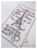 Petite fugue parisienne (fiche imprimée)