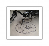 Bicyclette 1904 (fiche imprimée)