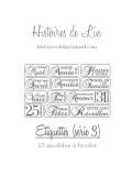 Etiquettes (série 3) - SPECIALES NOEL (fichier PDF)