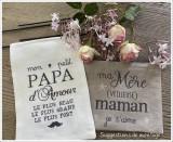 Merveilleuse maman & papa d'Amour (fiche imprimée)