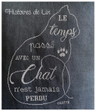 Le temps passé avec un chat (fiche imprimée)