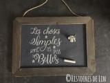 Les choses simples...