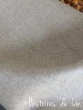 Lin enduit (coupon 75 x 50 cm environ)