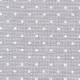 Edinburgh col.7349 pois gris/blanc(14 fils)